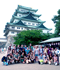 A group of students at Nanzan