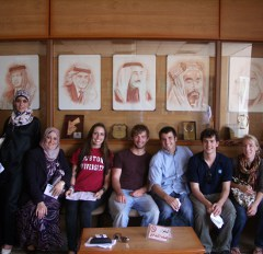 Jordan CET Students and Partne
