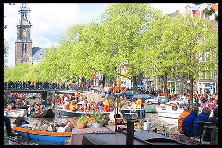 Maastricht Queen's Day Celebration