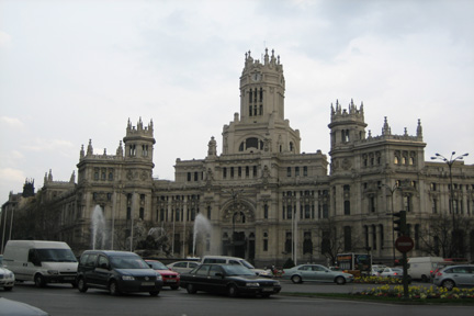 Old Post Office in Madrid