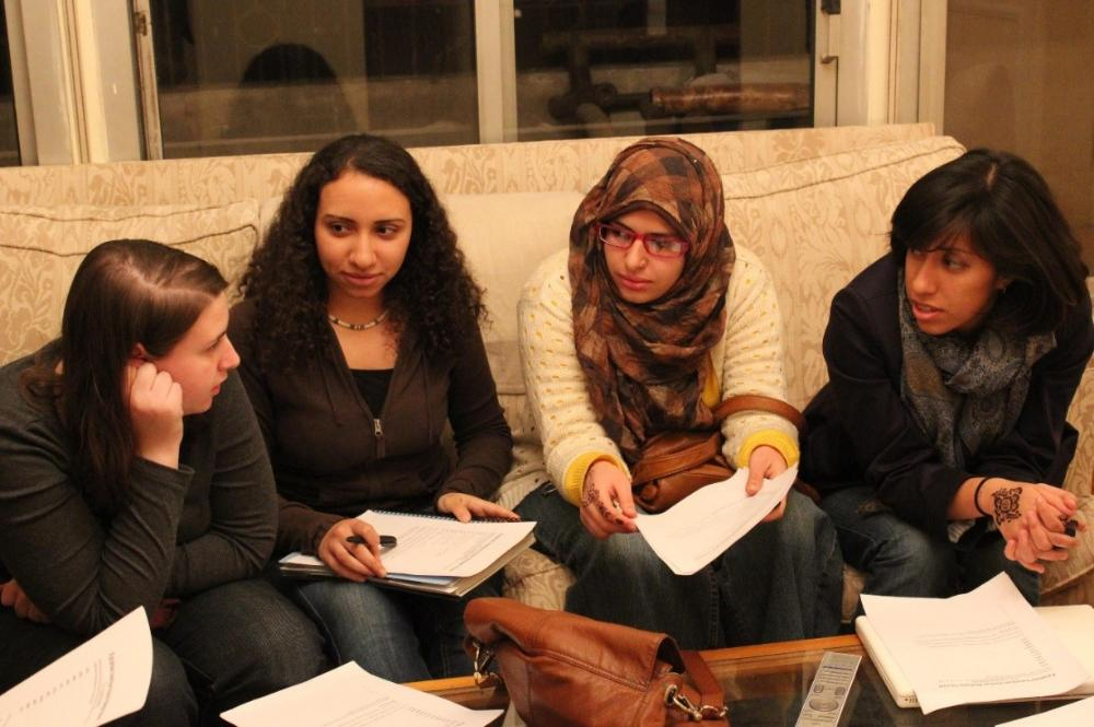 AMIDEAST Morocco female student