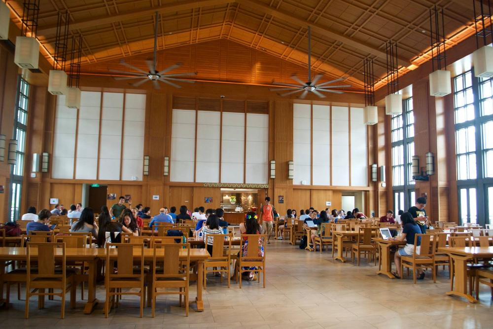 Yale-NUS dining hall